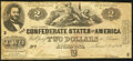 Confederate Notes:1862 Issues, T42 $2 1862 PF-5 Cr. 337.. ...