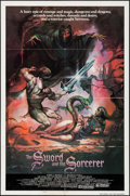 """Movie Posters:Fantasy, The Sword and the Sorcerer & Others Lot (Group 1, 1982). One Sheets (2) (27"""" X 41"""") & Presskit (9"""" X 12""""). Fantasy.. ... (Total: 3 Items)"""