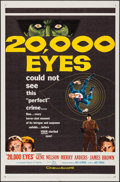 """Movie Posters:Crime, 20,000 Eyes & Other Lot (20th Century Fox, 1961). One Sheets(2) (27"""" X 41""""). Crime.. ... (Total: 2 Items)"""