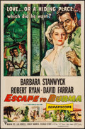"Movie Posters:Adventure, Escape to Burma & Other Lot (RKO, 1955). One Sheets (2) (27"" X41""). Adventure.. ... (Total: 2 Items)"