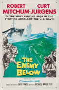 "Movie Posters:War, The Enemy Below & Other Lot (20th Century Fox, 1957). OneSheets (3) (27"" X 41""). War.. ... (Total: 3 Items)"