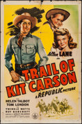 """Movie Posters:Western, Trail of Kit Carson & Other Lot (Republic, 1945). One Sheets(2) (27"""" X 40"""" & 27"""" X 41""""). Western.. ... (Total: 2 Items)"""