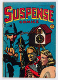 Golden Age (1938-1955):Horror, Suspense Comics #12 (Continental Magazines, 1946) Condition:Average GD/VG....