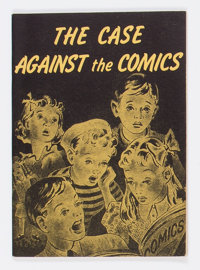 The Case Against Comics (Catechetical Guild, 1944) Condition: FN+