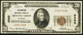 National Bank Notes:Kentucky, Bowling Green, KY - $20 1929 Ty. 1 The American NB Ch. # 9365. ...