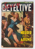 Pulps:Detective, Spicy Detective Stories - November 1940 (Culture) Condition: GD+....