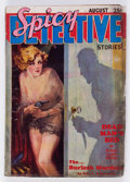 Pulps:Detective, Spicy Detective Stories - August 1934 (Culture) Condition: GD/VG....