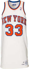 Basketball Collectibles:Uniforms, 1987-88 Patrick Ewing Game Worn New York Knicks Jersey. ...