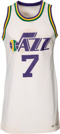 Basketball Collectibles:Uniforms, Late 1970's Pete Maravich Game Worn New Orleans Jazz Jersey. ...