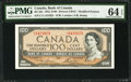 Canadian Currency: , BC-43c $100 1954.. ...