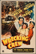 "Movie Posters:Adventure, Wrecking Crew (Paramount, 1942). One Sheet (27"" X 41""). Adventure....."