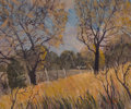 Fine Art - Painting, American, Carl Thomas Hoppe (American, 1897-1981). Fall Breeze, 1951.Oil on canvas. 20 x 24 inches (50.8 x 61.0 cm). Signed and d...