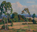 Paintings, Fred Darge (American, 1900-1978). Lazy Afternoon. Oil on canvas. 15-1/2 x 17-3/4 inches (39.4 x 45.1 cm). Signed lower r...
