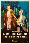 "Movie Posters:Mystery, The Turn of the Wheel (Goldwyn, 1918). One Sheet (28"" X 41"").. ..."