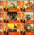 """Movie Posters:James Bond, From Russia with Love (United Artists, 1964). Italian PhotobustaSet of 10 (18.5"""" X 26.5) Renato Fratini and Eric Pulford Ar...(Total: 10 Items)"""