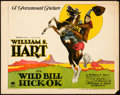 "Movie Posters:Western, Wild Bill Hickok (Paramount, 1923). Title Lobby Card (11"" X 14"")....."