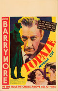 "Movie Posters:Drama, Topaze (RKO, 1933). Window Card (14"" X 22"").. ..."