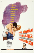 "Movie Posters:Drama, The Hustler (20th Century Fox, 1961). One Sheet (27"" X 41"").. ..."