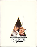 "Movie Posters:Science Fiction, A Clockwork Orange (Warner Brothers, 1971). Presskit (11"" X 14"")Philip Castle Artwork.. ... (Total: 17 Items)"