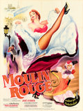 "Movie Posters:Drama, Moulin Rouge (Paris Film, 1953). French Grande (47.5"" X 63"").. ..."