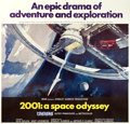 "Movie Posters:Science Fiction, 2001: A Space Odyssey (MGM, 1968). Cinerama Six Sheet (77.25"" X80.25"") Robert McCall Artwork.. ..."