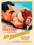"Movie Posters:Hitchcock, Notorious (MGM, R-1958). French Grande (47.5"" X 63"") Roger SoubieArtwork.. ..."