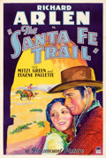 "Movie Posters:Western, The Santa Fe Trail (Paramount, 1930). One Sheet (27.5"" X 41"").. ..."