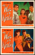 "Movie Posters:Science Fiction, The War of the Worlds (Paramount, 1953). Lobby Cards (2) (11"" X14"").. ... (Total: 2 Items)"