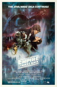 """The Empire Strikes Back (20th Century Fox, 1980). One Sheet (27"""" X 41"""") Style A, Roger Kastel Artwork"""