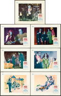 "Movie Posters:Comedy, Munster, Go Home (Universal, 1966). Lobby Cards (7) (11"" X 14"").. ... (Total: 7 Items)"