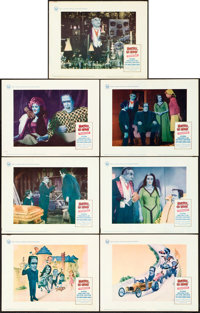 """Munster, Go Home (Universal, 1966). Lobby Cards (7) (11"""" X 14""""). ... (Total: 7 Items)"""