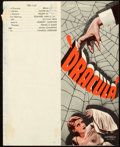 "Movie Posters:Horror, Dracula (Universal, 1931). Small Herald (5.5"" X 7"" Unfolded).. ..."
