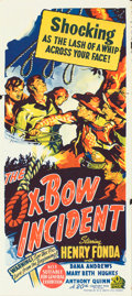 "Movie Posters:Western, The Ox-Bow Incident (20th Century Fox, 1943). Australian Daybill(13.5"" X 29.75"").. ..."