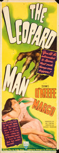"Movie Posters:Horror, The Leopard Man (RKO, 1943). Insert (14"" X 36"").. ..."