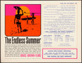 "Movie Posters:Sports, The Endless Summer (Cinema 5, 1966). Promotional Handbill (8.5"" X11"") John Van Hamersveld Artwork.. ..."