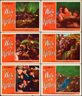 "Movie Posters:Science Fiction, The War of the Worlds (Paramount, 1953). Lobby Cards (6) (11"" X14"").. ... (Total: 6 Items)"