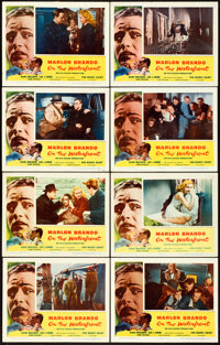 "On the Waterfront (Columbia, 1954). Lobby Card Set of 8 (11"" X 14""). ... (Total: 8 Items)"