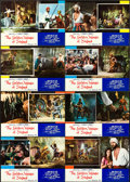 "Movie Posters:Fantasy, The Golden Voyage of Sinbad (Columbia, 1973). Italian PhotobustaSet of 8 (18"" X 25.75"").. ... (Total: 8 Items)"