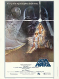"Movie Posters:Science Fiction, Star Wars (20th Century Fox, 1977). Poster (30"" X 40"") Style A, TomJung Artwork.. ..."