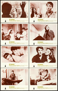 """The Graduate (Embassy, 1968). Lobby Card Set of 8 (11"""" X 14""""). ... (Total: 8 Items)"""