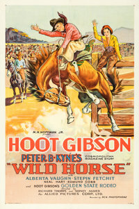 "Wild Horse (Allied Pictures, 1931). One Sheet (27"" X 41"")"
