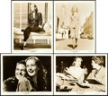 """Movie Posters:Comedy, To Be or Not to Be (United Artists, 1942). Photos (4) (8"""" X 10"""")..... (Total: 4 Items)"""