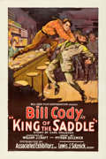 "Movie Posters:Western, King of the Saddle (Associated Exhibitors, 1926). One Sheet (27.25""X 41"").. ..."