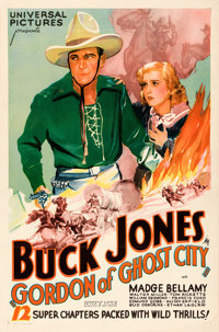 "Gordon of Ghost City (Universal, 1933). One Sheet (27"" X 41"")"