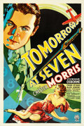 "Movie Posters:Crime, Tomorrow at Seven (RKO, 1933). One Sheet (27.25"" X 41"").. ..."