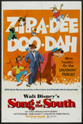 "Movie Posters:Animated, Song of the South (Buena Vista, R-1972). One Sheet (27"" X 41"").Animated...."