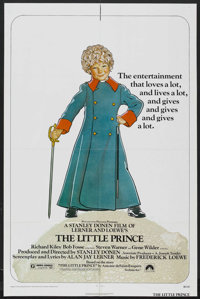 """The Little Prince (Paramount, 1974). One Sheet (27"""" X 41"""") and Lobby Card Set of 8 (11"""" X 14""""). Fant..."""
