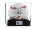 Autographs:Baseballs, Bob Gibson Single Signed Baseball, PSA Mint 9. An essential singlefrom one of the most dominant pitchers of his era. Ball...