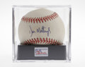 Autographs:Baseballs, Don Mattingly Single Signed Baseball, PSA NM-MT+ 8.5. When theYankee fans didn't have much to cheer about, there was alway...