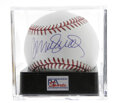 Autographs:Baseballs, Ryne Sandberg Single Signed Baseball, PSA Mint+ 9.5. The newestmember of Cooperstown, and one of the greatest hitting seco...